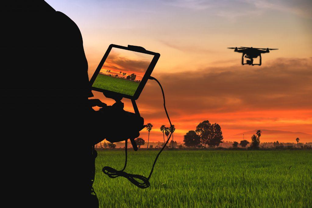 UFPB e USP pesquisam o uso de drones para favorecer a produção agrícola
